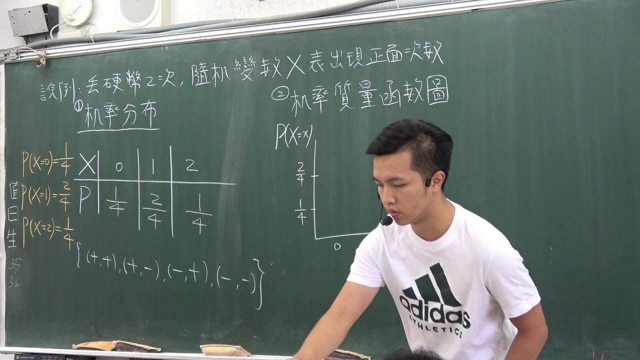 機率質量函數圖 - YouTube