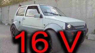 видео Ока с двигателем от ВАЗ 2108 как поставить