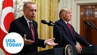 President Trump holds press conference with Turkish president Erdogan | USA TODAY