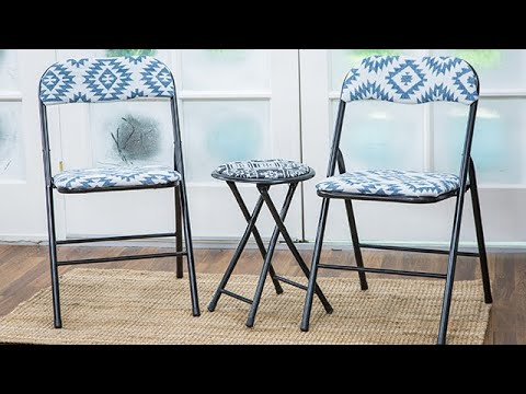 DIY Upcycled Folding Chairs - Home & Family