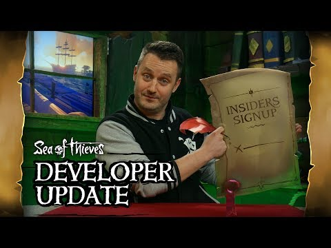 Official Sea of Thieves Developer Update: March 6th 2019