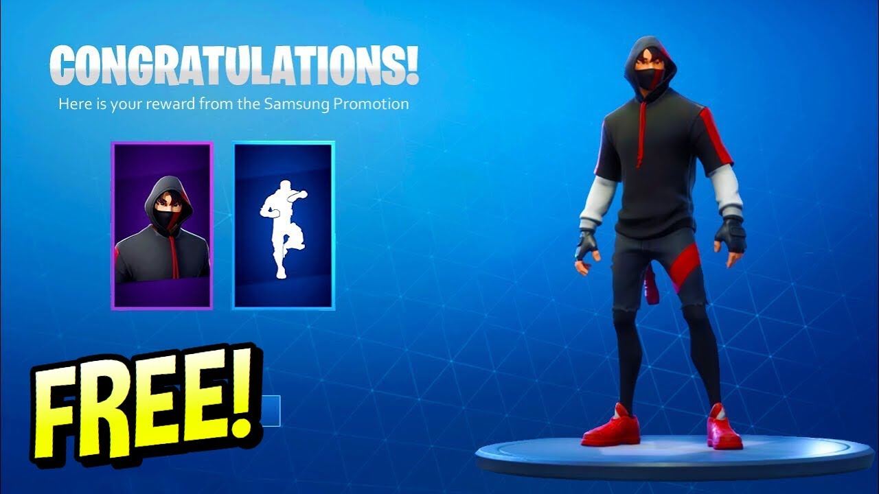 How To Get Ikonik Skin For Free Without Phone Youtube