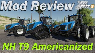 Mod Review - New Holland T9 US Edition
