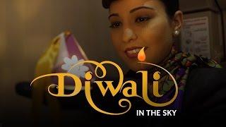 Diwali in the sky - Etihad Airways