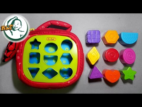 Learn shapes with K's Kids Patrick Shapes-a-boo
