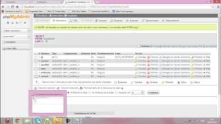 Formulario HTML con phpMyAdmin