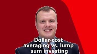 Dollar-cost averaging vs. lump sum investing