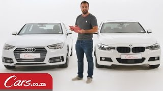 2016 Audi A4 vs BMW 3 Series – In Depth Review & Comparison