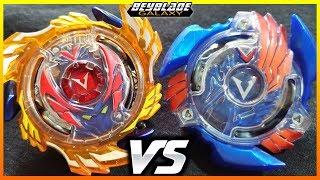 Genesis Valtryek .6V.Rb vs Victory Valtryek .B.V - [Beyblade Burst Hasbro] - ベイブレードバースト