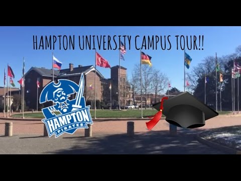 HAMPTON UNIVERSITY CAMPUS TOUR!! | allthingsimani
