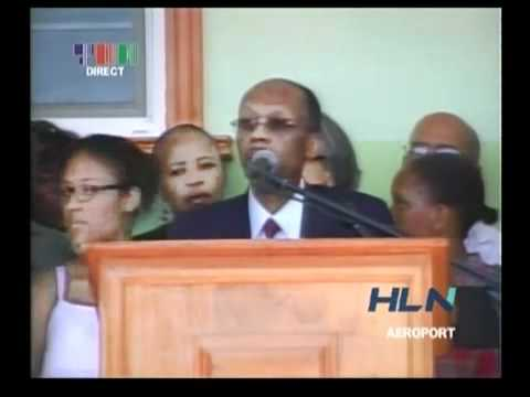 Jean Bertrand Aristide Returns to Haiti [Full Speech] 03.18.2011