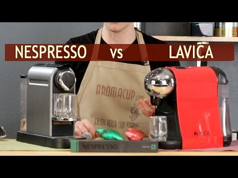 Nespresso Vs Lavica Single Serve Espresso And Coffee Machine