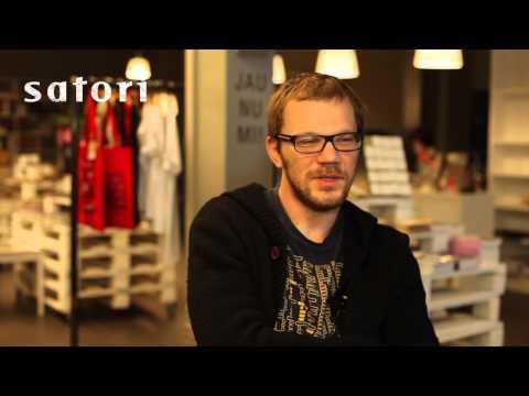 Jānis Joņevs sarunā ar Satori