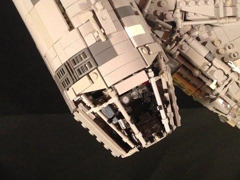 Episode V Scratch Built Lego Millennium Falcon