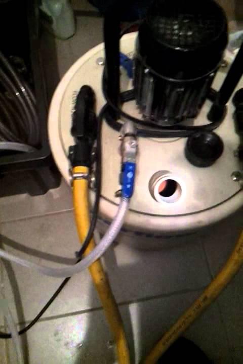 D sembouage plancher chauffant et radiateur l 39 aide d 39 une - Desembouage plancher chauffant ...