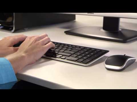 Dell KM714 Wireless Keyboard and Mouse Combo