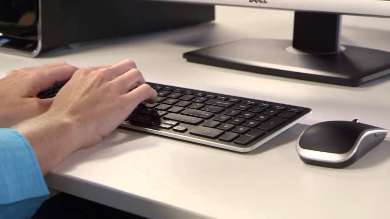 69eb4e0a5b5 Dell KM714 Wireless Keyboard and Mouse Combo - YouTube