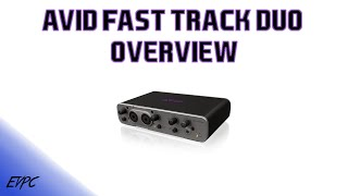 avid fast track duo overview   usb audio interface