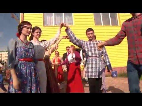 Русские Кадрили+  Народные Игры  в Югорске