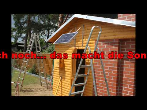 gartensauna selber bauen youtube. Black Bedroom Furniture Sets. Home Design Ideas
