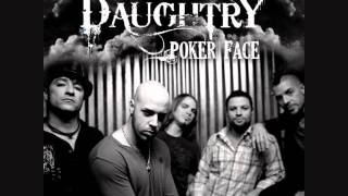 Daughtry - Poker Face (acoustic) HQ.wmv