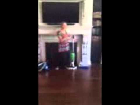 New Floor Scrubbing System To Clean Wood Floors Youtube