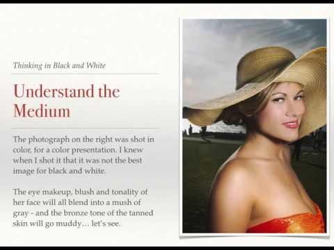 BLACK AND WHITE PORTRAITS: INTRO