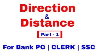 Directions Reasoning Tricks For Bank PO | Clerk | SSC [In Hindi]