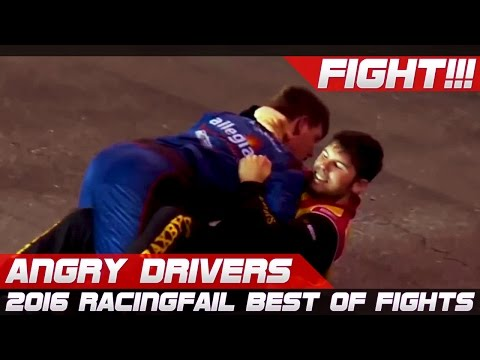 ANGRY DRIVERS! Best of Racing Fights 2016 Compilation #thuglife