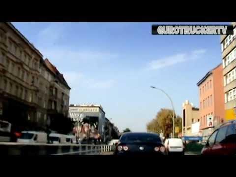 STREETS OF BERLIN, GERMANY - Zeitraffer - Alexanderplatz - Wedding - Pankow - Charlottenburg
