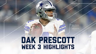 Dak Prescott Highlights | Bears vs. Cowboys | NFL Week 3 Player Highlights