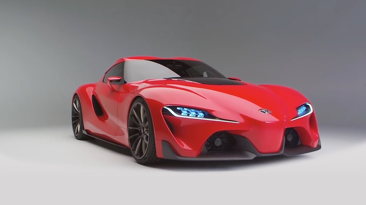 NEW Toyota FT-1 concept unveiled OFFICIAL Trailer - YouTube