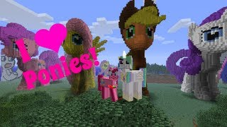 Amys Minecraft World Tours! Equestria & Ponies! | Amy Lee33