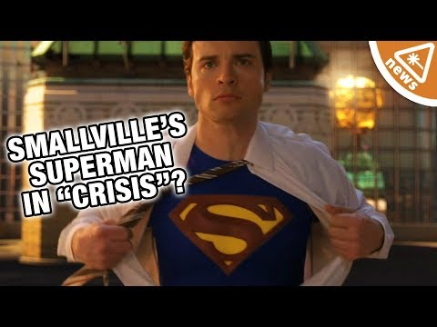 "Is Smallville's Tom Welling Finally Suiting Up as Superman for ""Crisis""? (Nerdist News)"