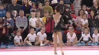 В Якутске состоялось открытое первенство города по художественной гимнастике