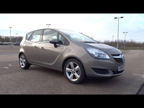 2015 Vauxhall Meriva 1.4i Turbo 120 Exclusiv A/C Start-Up and Full Vehicle Tour
