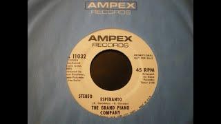 Grand Piano Company - Esperanto 1971