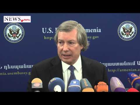 OSCE Minsk Group Co-Chair James Warlick