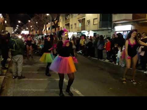 Bailarinas Y Lubolos En Rua 2019 De El Prat De Llobregat.