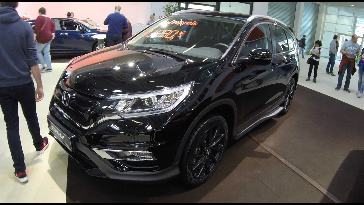 Honda Cr V Black Edition Model 2017 Walkaround And Interior
