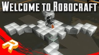 RoboCraft #1 - Intro to RoboCraft (Let's Play and Discussion)