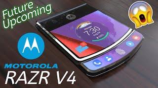 Moto RAZR V4 Upcoming Future Phone,the foldable smartphone is here,Moto legend Reborn Phone RAZR
