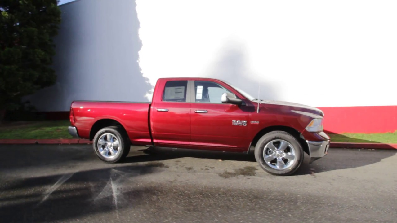 2017 Dodge Ram 1500 Big Horn Quad Cab 4x4 Delmonico Red