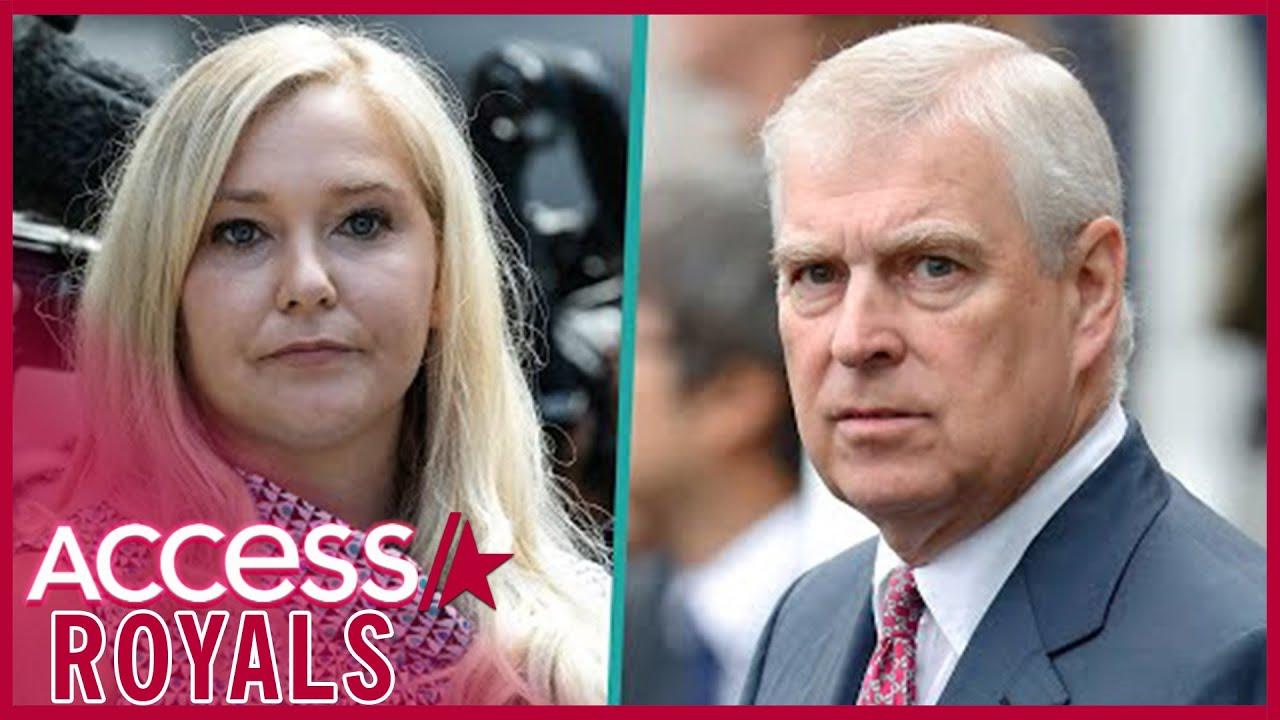 Virginia Giuffre: Prince Andrew accuser files civil case in US