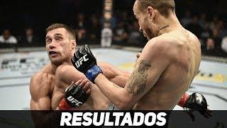 TODOS OS RESULTADOS UFC REYES VS WEIDMAN! Video