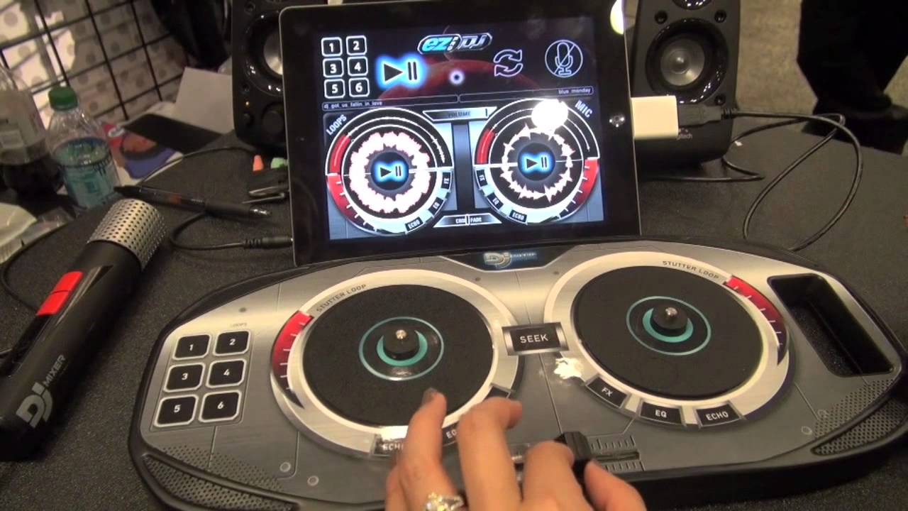 ez pro dj turns your tablet or phone into a dj station for 50 youtube. Black Bedroom Furniture Sets. Home Design Ideas