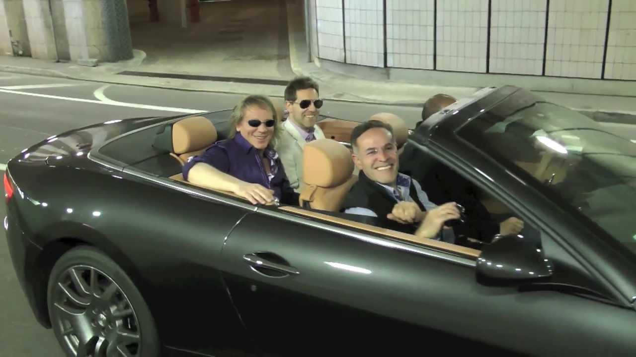 Mickey Rourke Cruising In A Maserati Granturismo Convertible