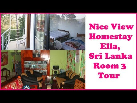 Nice View Homestay Ella Sri Lanka Room 3 Tour