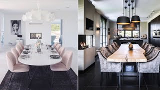Latest Dining Room Decoration Ideas 2019#DiningRoom Furniture Makeover and transformation  2019