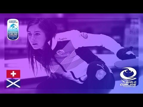 Switzerland v Scotland - Women - Round Robin - Le Gruyère AOP European Curling Championships 2018